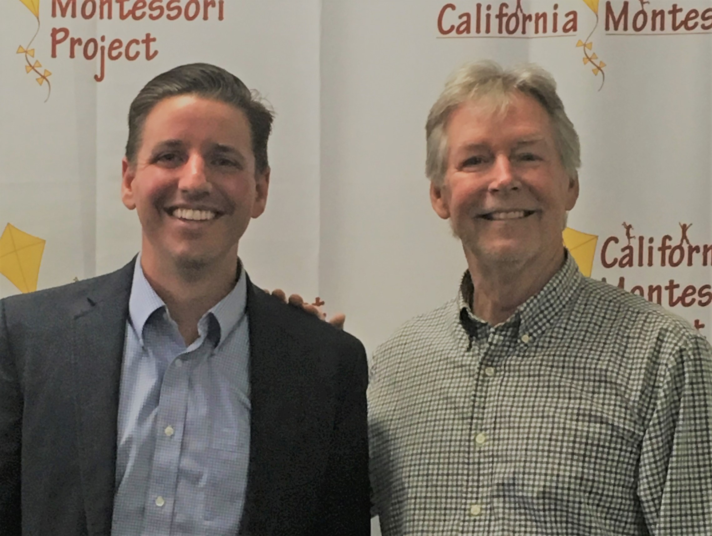 Gary Bowman, Executive Director and Brett Barley