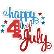 4th of July Clip Art