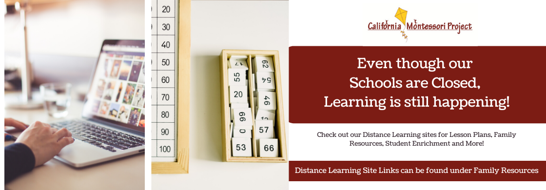 The Distance Learning sites house all the curriculum and information for learning during the School Closure. Links can be found under family resources.